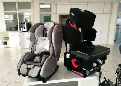 Behinderten-Autositze